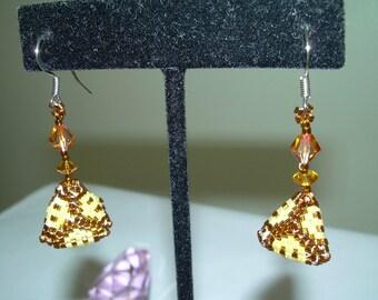 Tri-Angle Earrings