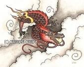Eastern Dragon - Original Painting