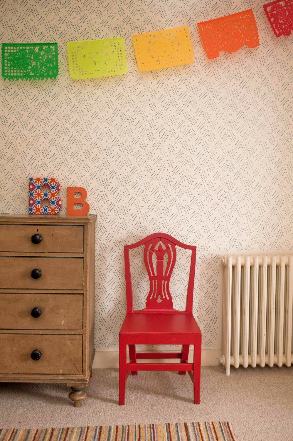 No. 4 Patterned Paint Roller from The Painted House