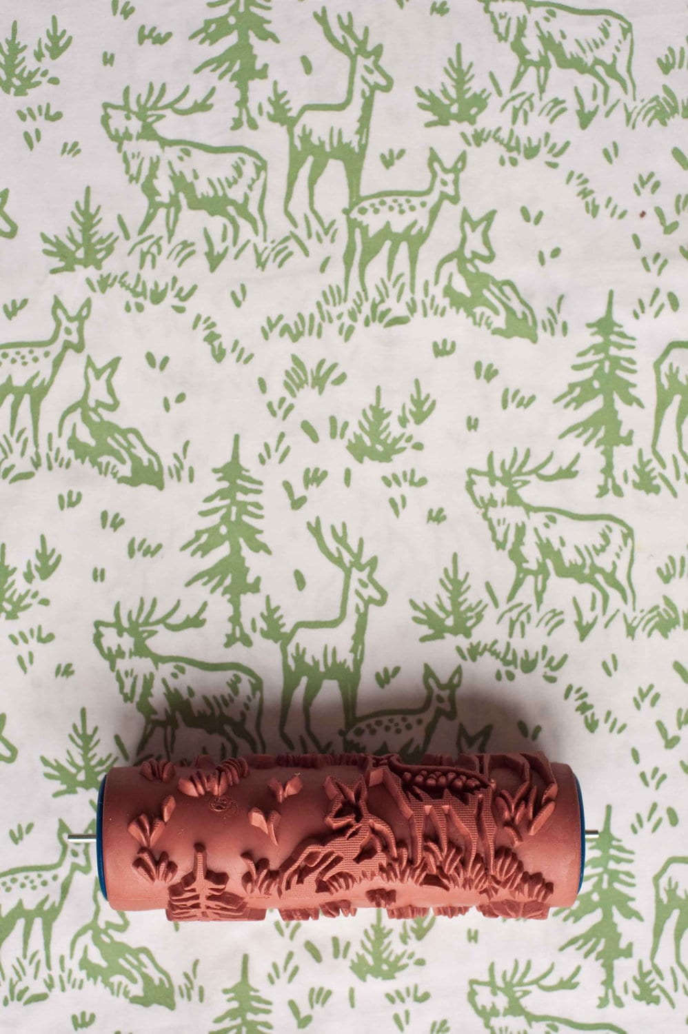 No. 6 Patterned Paint Roller from The Painted House from ...