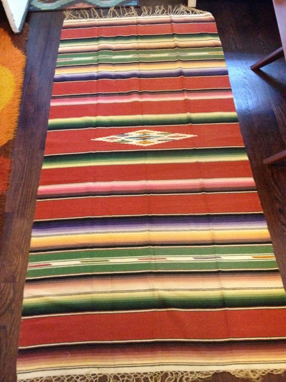 Kant Vintage mexican blanket