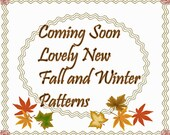 New PDF Sewing Patterns for Fall and Winter --- Coming Soon