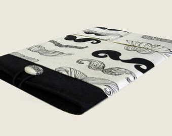 Macbook Pro Sleeve, Macbook Pro Case, 15 inch Macbook Pro Cover, 15 inch Macbook Pro Case, Laptop Sleeve, Mustaches