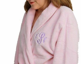 Super Plush Monogrammed Robe ( 6 New Colors Added )