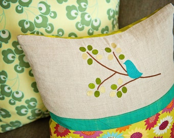 Bird on Branch - Machine Embroidery Designs