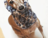 Italian Greyhound (Small Dog) Snood or Neck Warmer in Tidal Pool Color