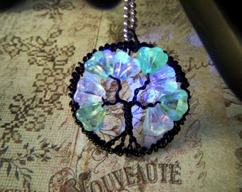 Glow in the Dark, Tree of Life, Necklace Set, Petite