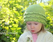 Crochet Toddler Hat Pattern: 'Rose Petal' Crochet Beanie (Newborn, 3mo, 6mo, 12mo & Toddler)
