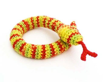 Kitty Catnip Snake Cat Toy - Choose Your Color