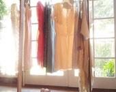 Original Design : Industrial Wood and Copper Garment Racks