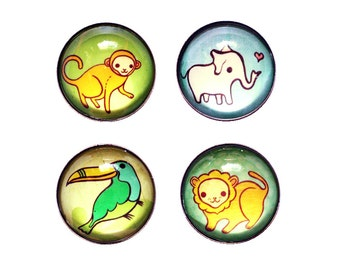 cute animal magnets for kids, kitchen magnets, kids magnet sets, kids fridge magnets, refrigerator magnets, zoo animals, wild animals