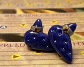 Ocarina Earrings (Post or Dangle) - Legend of Zelda - Nintendo