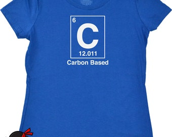 Geekery Clothing for Women Geekery Science Chemistry T shirt Periodic Table Shirt Funny Science Shirt Tshirt for Her