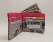 Grey 35mm Film Bifold Wallet