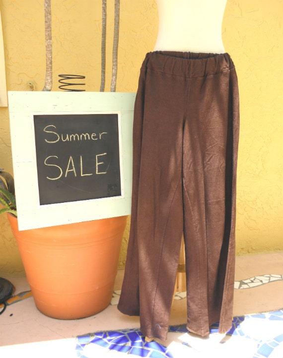 Muladhara Pant Organic Hemp Cotton. Summer Sale. Ready to ship.