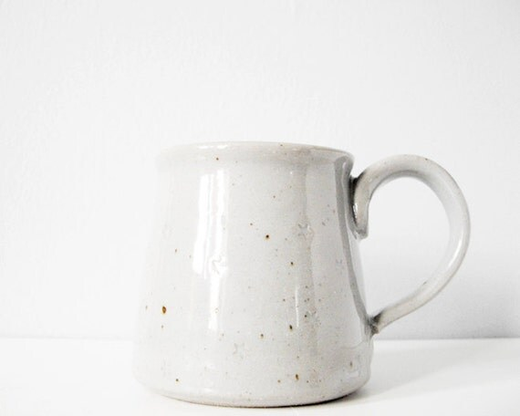 Reserved for dear Gen // Handmade modern coffee mug grey stars - beautiful gray ceramic cup stoneware brown clay pottery