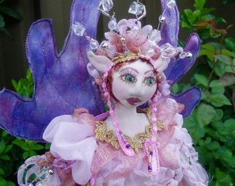 E- PATTERN, ARWEN, Fairy Princess, Cloth Doll Making, DIY Fairy, Cloth Doll Projects, Doll Workshop, Michelle Munzone, Tutorial, Pixie Diy