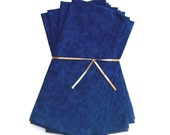 Dark Blue Cloth Napkins Set of 4
