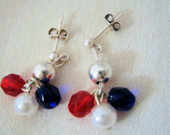 SALE-Patriot Act Too Earrings by Diana