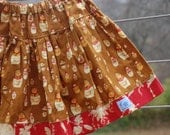 moja babushka ... nesting doll skirt ...sale from gock's frocks size 5/6