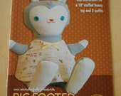 Wee Wonderfuls Pattern Book Three: Big Footed Bunny Toy Sewing Patterns