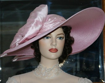 Kentucky Derby Oaks Hat Edwardian Tea Hat Ascot Hat - Titanic