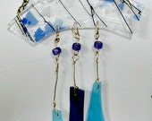Glass Windchimes - Stained Glass Wind Chimes