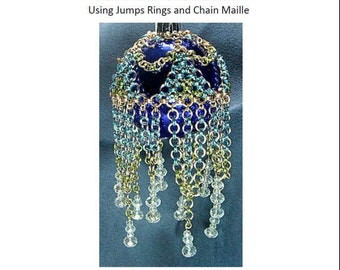 Christmas Ornament Covers 2 Tutorial Ebook, Chain Maille