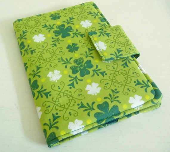 Kindle 4, Kindle 5, Kobo Touch Cover - Spring Green for St Patricks Day, Clearance