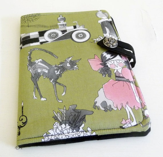 Ghastlie Halloween Kindle Touch, Kindle Paperwhite, Kobo Cover Case, Green