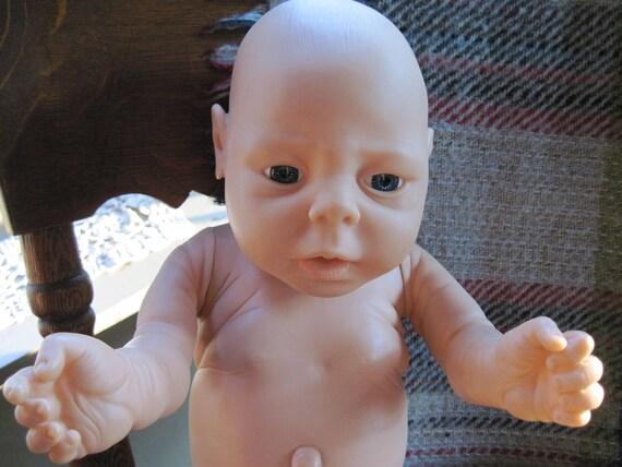 Waaaaah Ugly Baby Girl Vinyl Doll Anatomically Correct