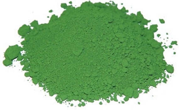 Green Grout Colorant : Green colorant for grout or cement oz great to use