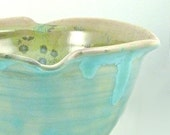 Medium Serving Bowl holds 7.5 cups in lichen verdigris glaze - IN STOCK kitchen bowl for serving and baking for the home chef