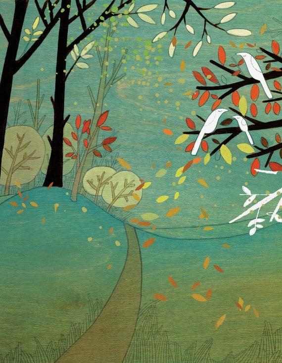 Prospect Park - Signed Art Print