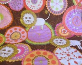 Valori Wells Bliss Cotton Flannel FVW25 Lions Tangerine