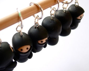 Ninja Knitting Stitch Markers
