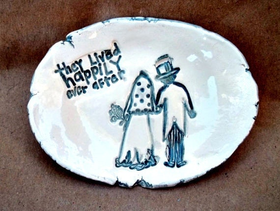 Bride and Groom Happily Ever After Bowl