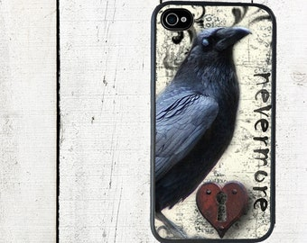 iphone 6 case The Raven iPhone Case, Nevermore iPhone 4 Case, Halloween - iPhone 5 Case - Galaxy s3 s4 s5
