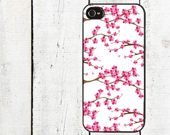 iphone 6 case Cherry Blossom Tree  Cell Phone Case - Pattern iPhone 4 Case - Cell Phone Case - iPhone 5 Case
