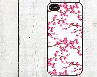 Cherry Blossom Tree  Phone Case for  iPhone 4 4s 5 5s 5c SE 6 6s 7  6 6s 7 Plus Galaxy s4 s5 s6 s7 Edge