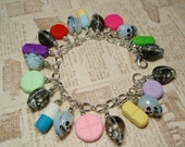 PILLS -n- CHILLS Charm Bracelet - Handmade from My Bead Garden