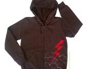 Lightning Brown Hoodie for kids (sale)