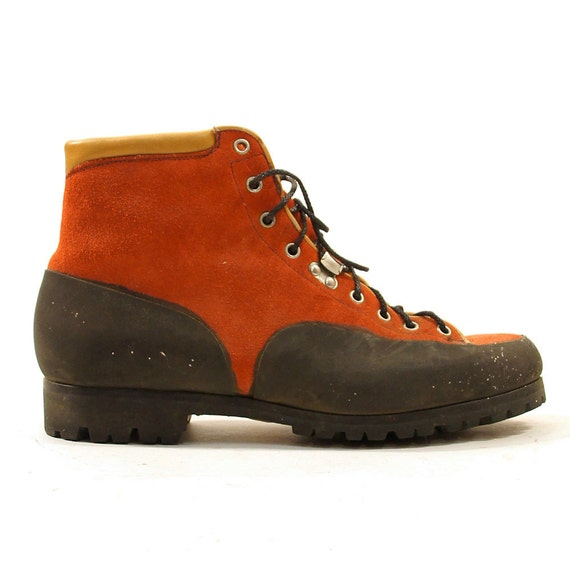 90s boots red