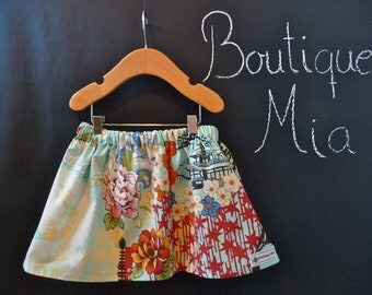 BUY 2 get 1 FREE - Skirt - Alexander Henry - Koto - Pick the size Newborn up to 14 Years by Boutique Mia