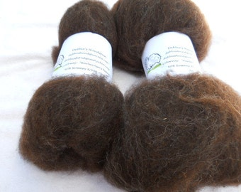 Romney X Wool/Alpaca Batts 2 oz.