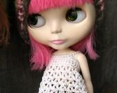 Blythe babydoll apron top crochet pattern pdf