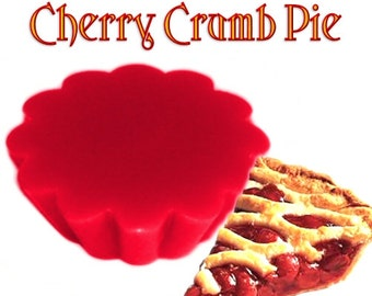 4 Cherry Crumb Pie Tarts Wickless Candle Melts Fruit Bakery Scent