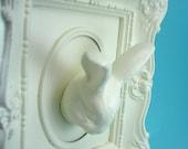 Ornately framed Mounted Bunny Head Wall Art