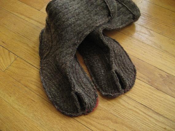mens wool slippers M 10.5-12 Euro 44-46