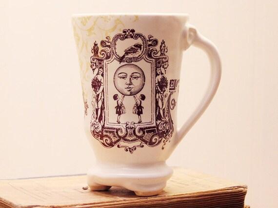 Coffee Mug - Girls holding up the Moon